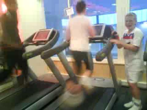 Thacker full speed treadmill