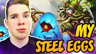 Hearthstone: My Steel Eggs!