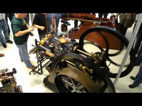 Film 1 of 2 Twin Cylinder 4 HP Deutz slide valve Special Dynamo service