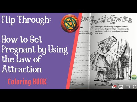 ♥ Fertility Coloring Book: How to Get Pregnant by Using the Law of Attraction