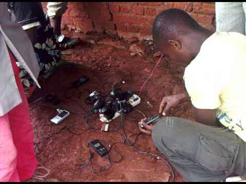 Cell Phone Charging in the DRC