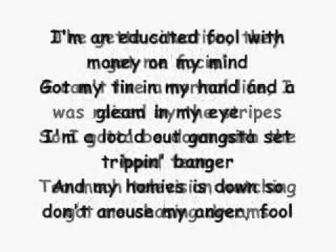 Coolio  Gangsters Paradise original Lyrics :