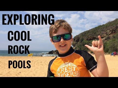 Exploring Cool Rock Pools at Killcare Beach, Australia