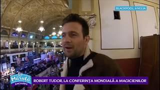 Robert Tudor, la conferinta mondiala a magicienilor