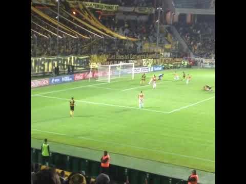 Peñarol 1 Progreso 0 : gol de Maxi Rodríguez desde la tribuna Damiani