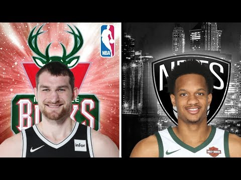 TYLER ZELLER TRADED TO MILWAUKEE BUCKS! DEANDRE JORDAN TRADE INCOMING? BROOKLYN NETS GET DRAFT PICK!