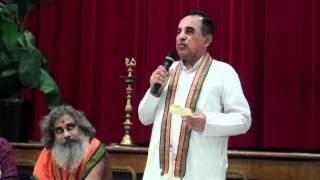Subramanian Swamy lecture on Bhagavad Gita and Hindu Mindset (full)