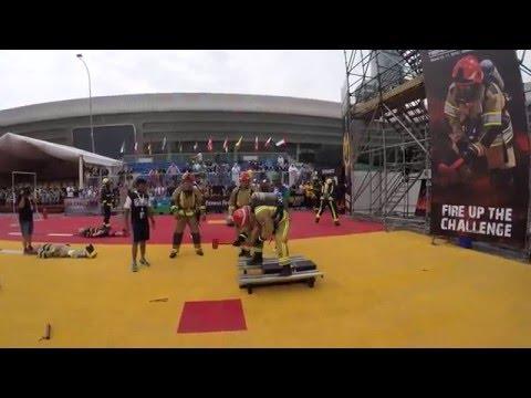 911 Firefighter Challenge Abu Dhabi 2016