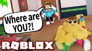 HIDING IN A DEAD BODY TROLL!! (Roblox Murder Mystery 2)