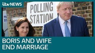 Boris Johnson to divorce - but will it hit his leadership hopes? | ITV News