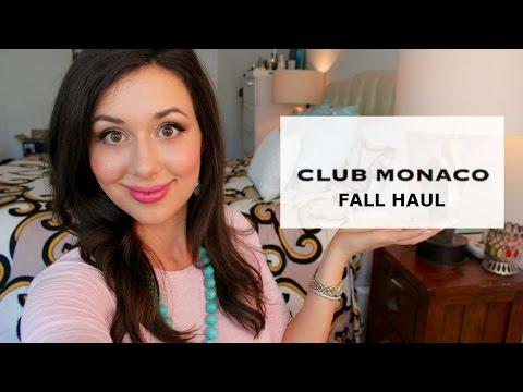 Club Monaco Fall Haul