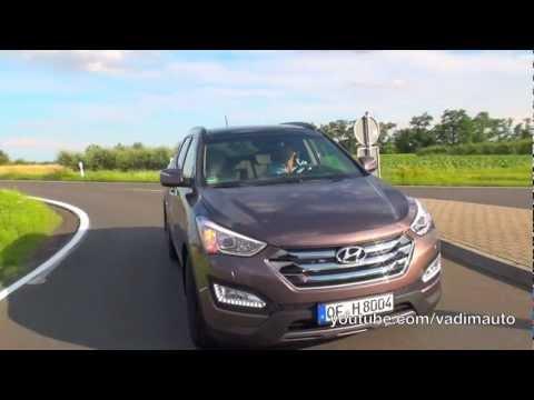 Hyundai Santa Fe 2013, first drive