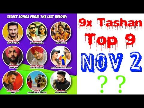 9x Tashan Top 9 of This Week- November 2, 2018 | Latest Punjabi Songs 2018 |