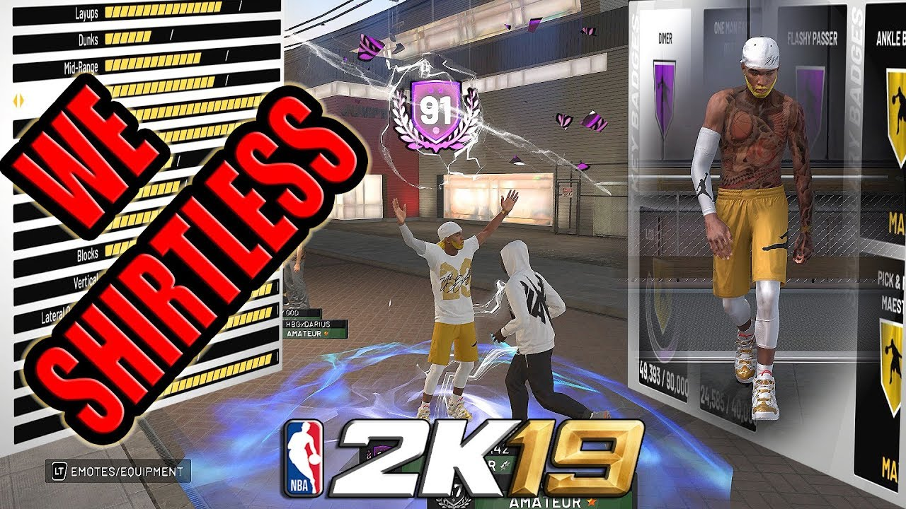 91 OVERALL PURE POINT FORWARD BADGE AND ATTRIBUTE UPDATE - NBA 2K19