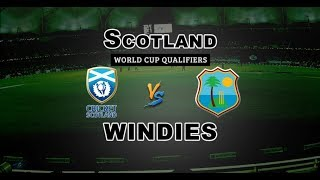 West indies vs Scotland ODI Highlights Video