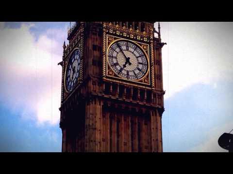 Scenic shots of London famous sites