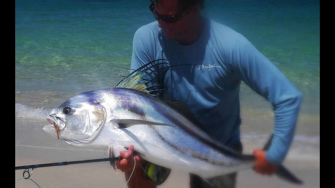 Baja mexico fly fishing beulah surf rods youtube for Surf fly fishing