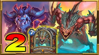 Hearthstone: My New Ultimate Face Damage Galakrond Warrior Cannot Be Stopped! Descent of Dragons Pt2