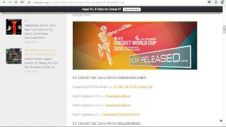Video How to download ICC World Cup 2015 for EA Sports Cricket 2007 download MP3, 3GP, MP4, WEBM, AVI, FLV Oktober 2017