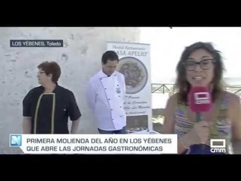 Cmmedia - Noticia Sobre La Molienda Tradicional 2 Junio En Los Yébenes