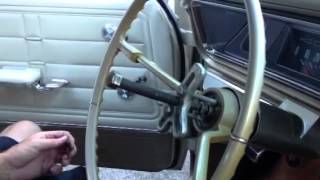 Removing Steering Wheel from 1966 Chevy Impala SS