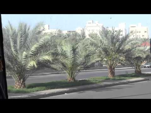 Umrah Travel by Bus with Guide in urdu historical Locations of Medina 4 april 2013 Saudi Arabia