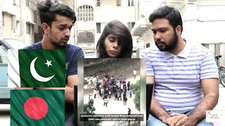 BANGLADESH STUDENTS SAFE ROAD PROTEST - PAKISTAN REACTION