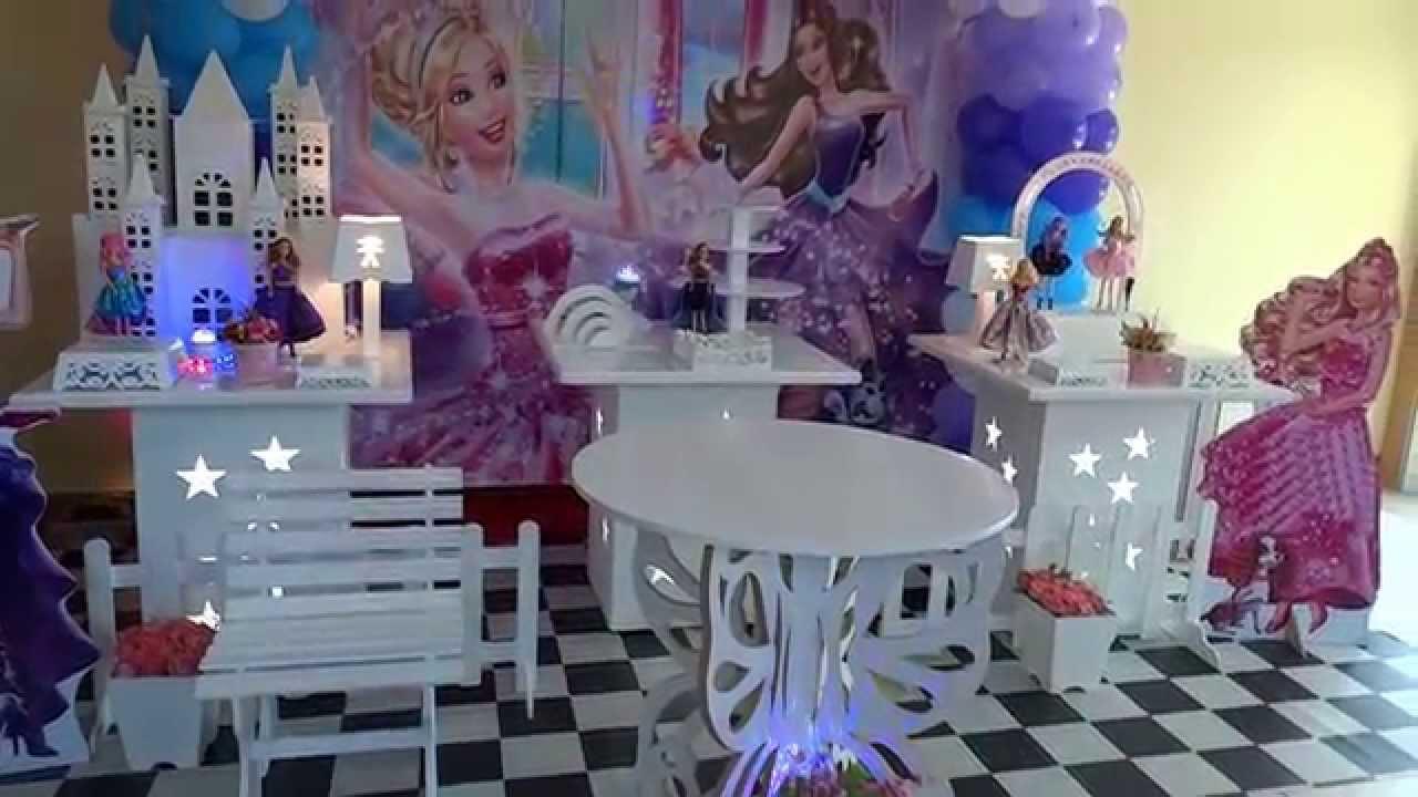 Barbie Pop Star - tema de decora??o de festa infantil ...