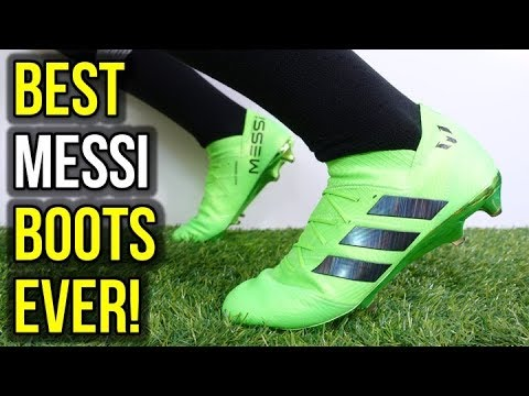 15053291f4d MESSI S 2018 WORLD CUP FOOTBALL BOOTS - ADIDAS NEMEZIZ MESSI 18.1 REVIEW +  ON FEET