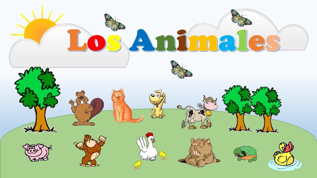 Aprende Los Nombres De Los Animales Video Educativo Para Niños