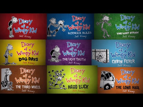 Every Wimpy Kid Book Trailer