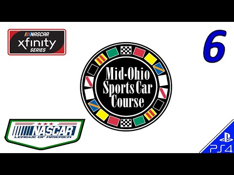 NASCAR Heat 2 LEAGUE OF AMERICA Xfinity - RACE 6 Mid-Ohio (2/18/18)