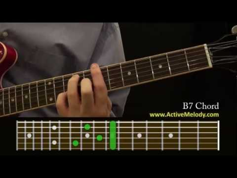 How To Play a B7 Chord On The Guitar - YouTube