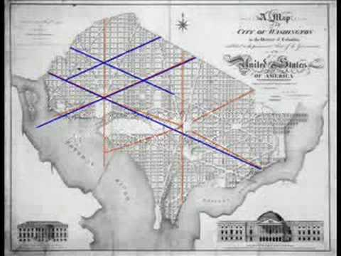 Masonic and Kaballistic Symbols in the DC Map Chapter 1 YouTube