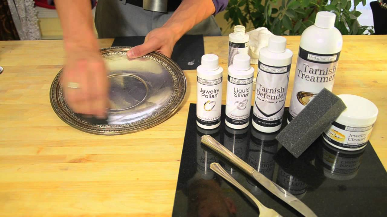 Medallion Care Liquid Silver Plating Solution Youtube