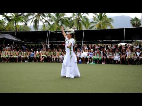 2009 King Kamehameha III School Queen Maleka