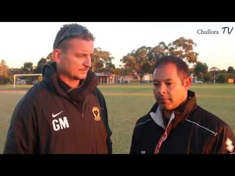 Chullora TV Interview Total Football International's Giles Tour