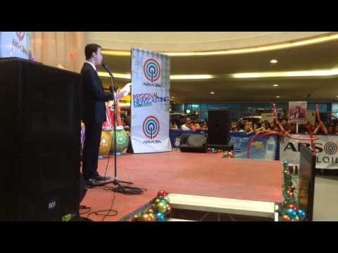 ABS-CBN Newscasting Competition 2014 Regional Finals (UP Visayas)