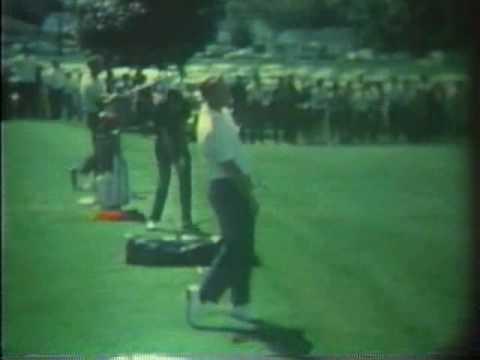 Palmer, Nicklaus, & Player,  1963 8mm exhibition