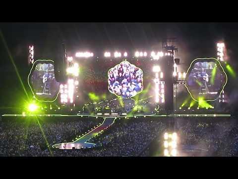 Yellow - Coldplay @ Stade de France, Paris, 15 juillet 2017