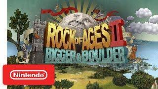 Rock of Ages 2: Bigger & Boulder - Launch Trailer - Nintendo Switch