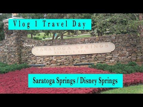 Saratoga Springs + Disney Springs | vlog travel day