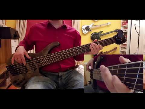 Dream Theater   These Walls Bass Cover with Ibanez EHB1506MS