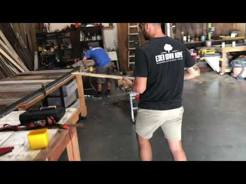 How To Build A Modern Rustic Barn Door In Silver Gray Tones