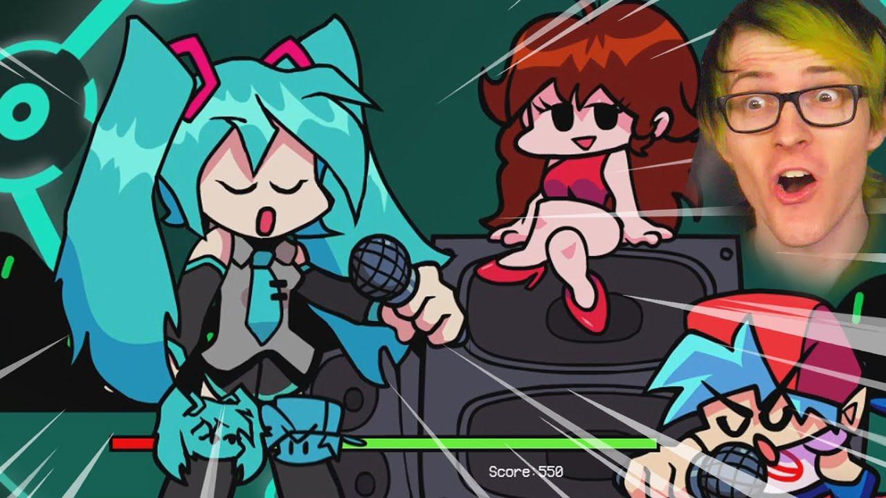 Download Hatsune Miku in Friday night funkin' is amazing