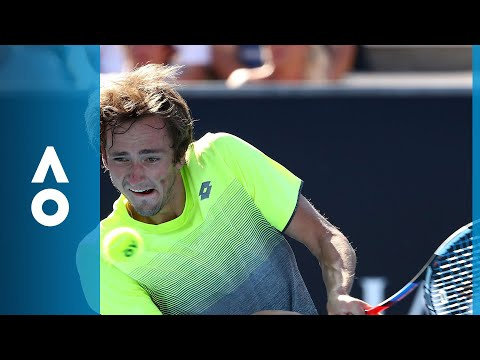 Thanasi Kokkinakis v Daniil Medvedev match highlights (1R) | Australian Open 2018