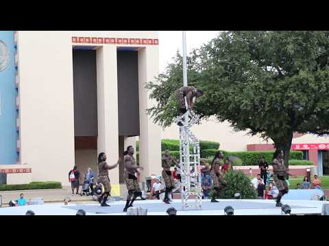 ZUZU  African Acrobats In State Fair of Texas 2018 Fall Part 1