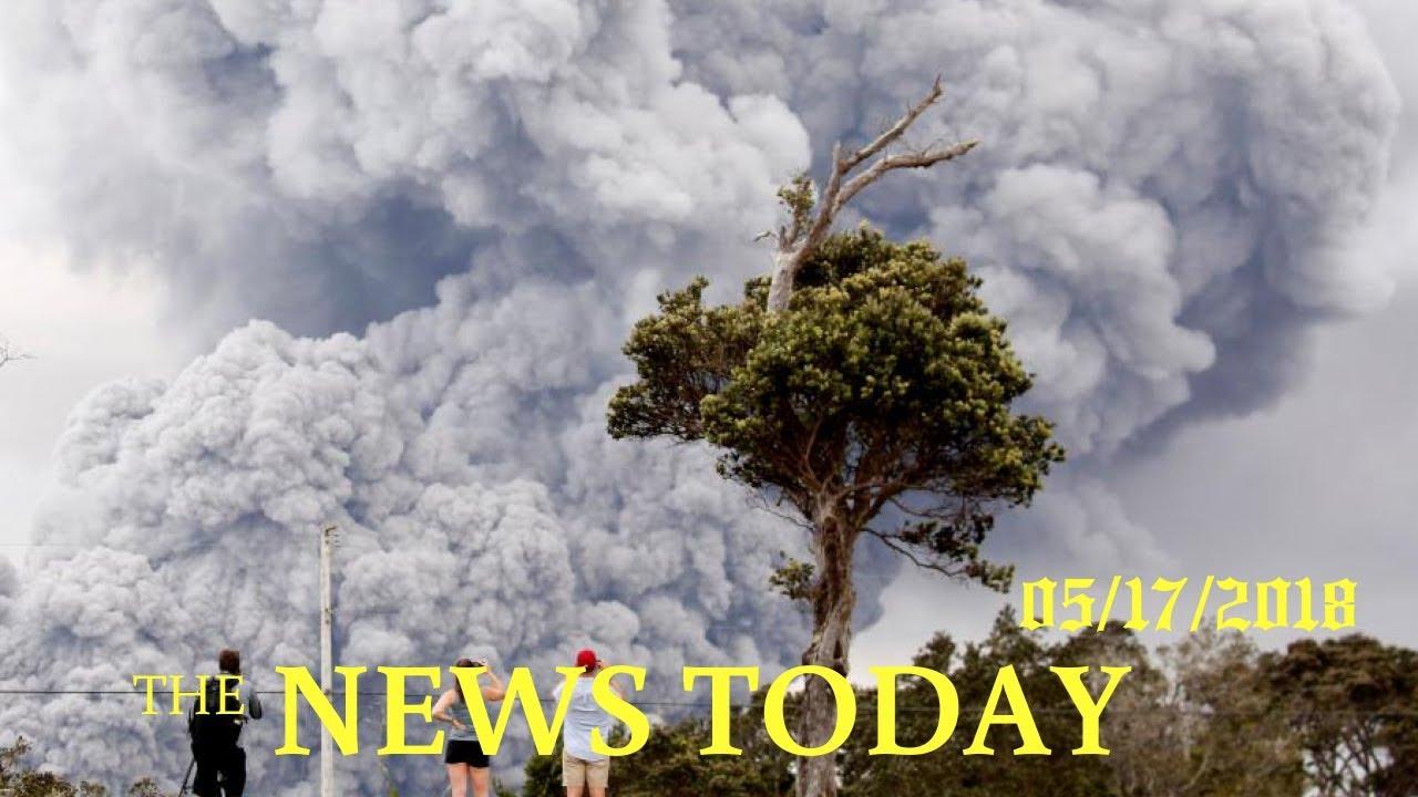 New eruption at Hawaii's Kilauea volcano sends up 30000-foot ash plume ...