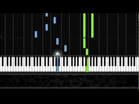 Taylor Swift - Begin Again - Piano Tutorial by Pluta-X (100% Speed) Synthesia