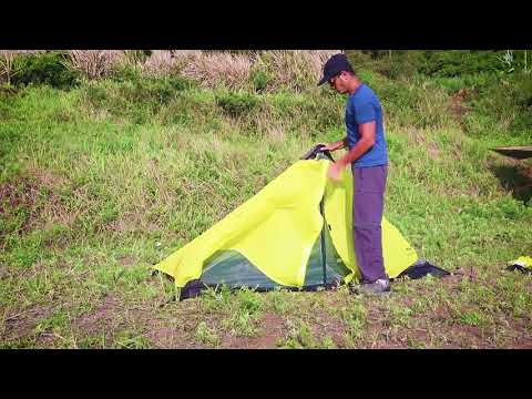How to assemble MIER LANSHAN1-Person backpacking tent